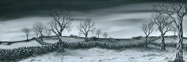 Snow Dust. - Kenneth Clarke Artist.
