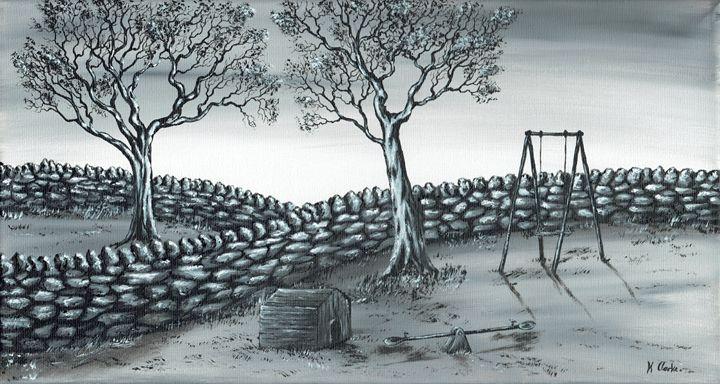 Dog House. - Kenneth Clarke Artist.