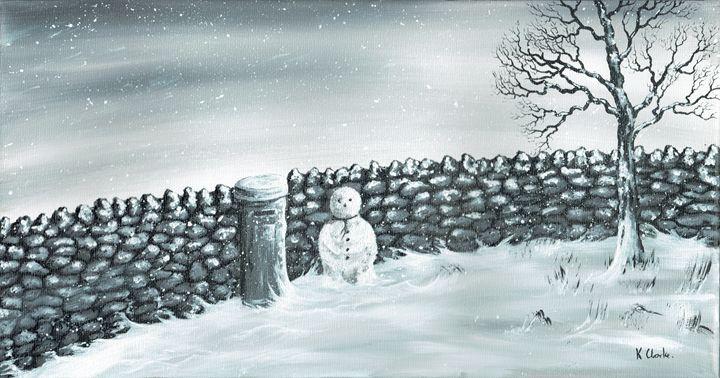 Snow Patrol. - Kenneth Clarke Artist.