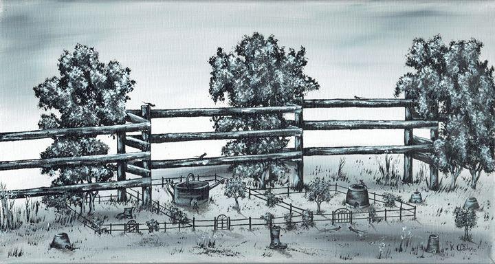 Popular Street. - Kenneth Clarke Artist.