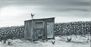 Chicken Run. - Kenneth Clarke Artist.