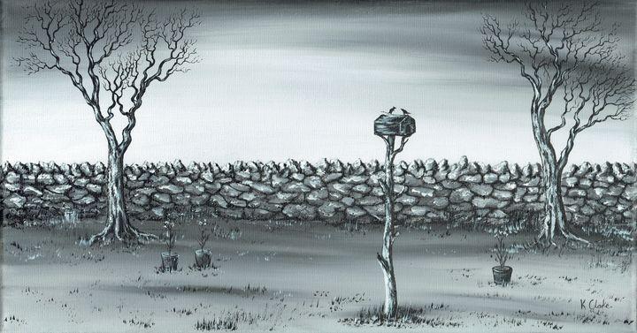 Odd Couple. - Kenneth Clarke Artist.