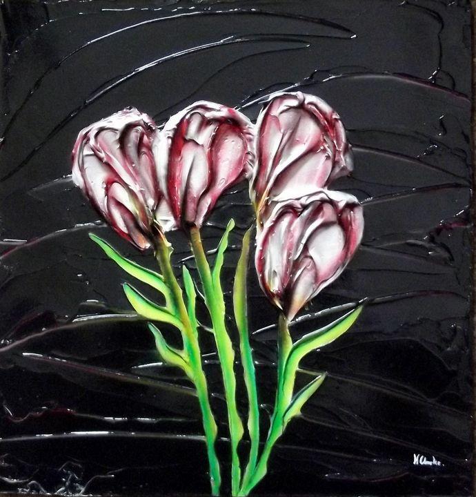 Wild Flower. - Kenneth Clarke Artist.