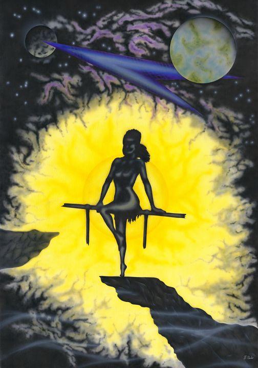 Night Wish. - Kenneth Clarke Artist.