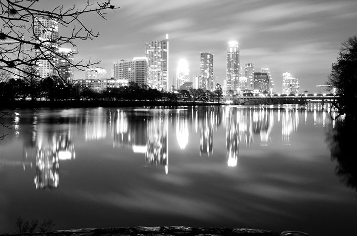 Austin BW - Megan C Photography