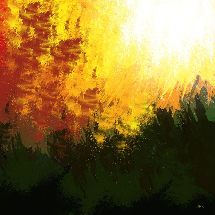 Forest Fire - Art of Jaikumar