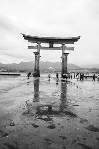 Tojii Arch in Miyajima