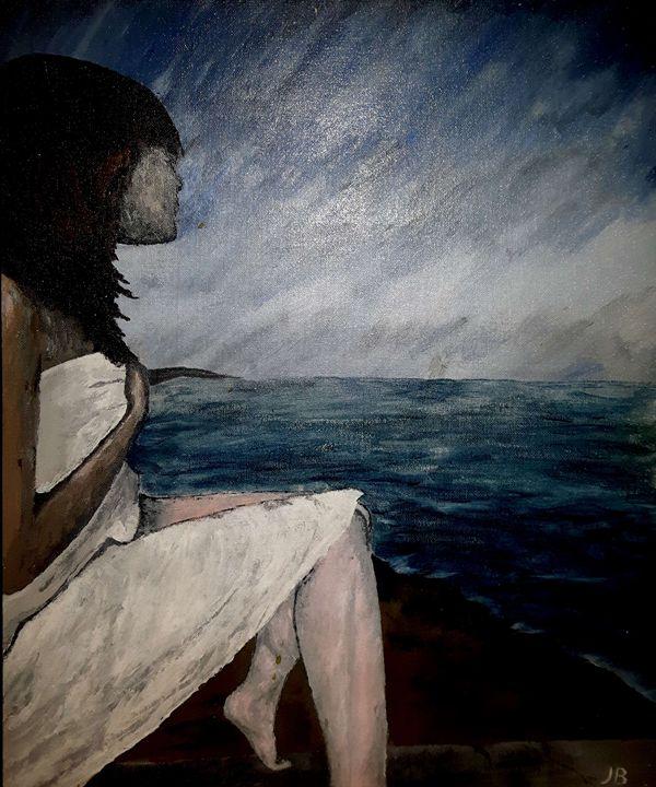 Windswept Woman - Jon B