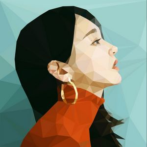Kang Min Kyung Low Poly Art