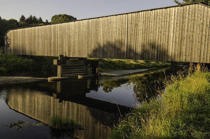 Covered Bridge - Chad Sedam Photograhy