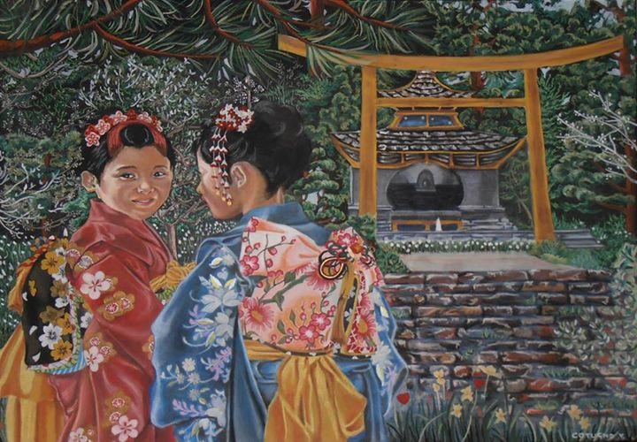 Japanese Girls - Cotugno Arte