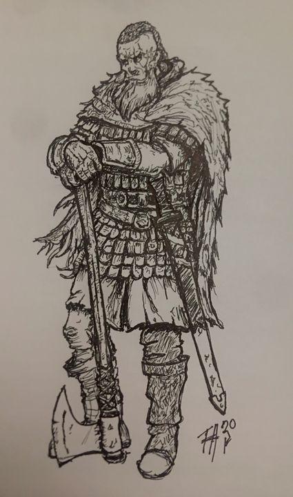 VikingKing - TomHardyDrawing