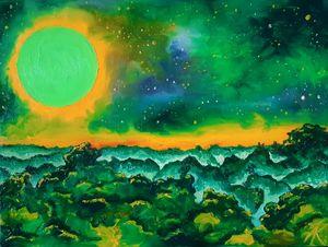 Green, green planet