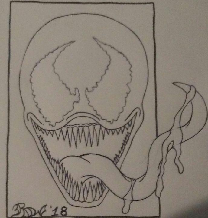 Venom Sketch - Richard Warner