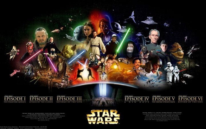 Official Star Wars Poster - HistoryAntics