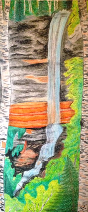 Michigan Waterpour - Harmony Hands Art