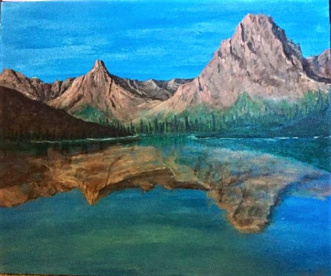 Two Medicine Lake (GNP) - Sarah Kleinhans