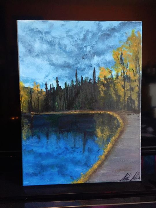 A Walk Along Swan Lake - Sarah Kleinhans