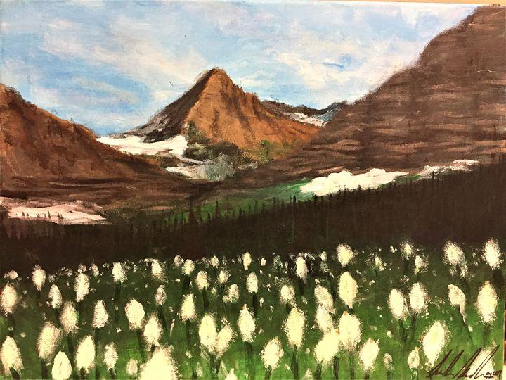 Bear Grass in Glacier Park - Sarah Kleinhans