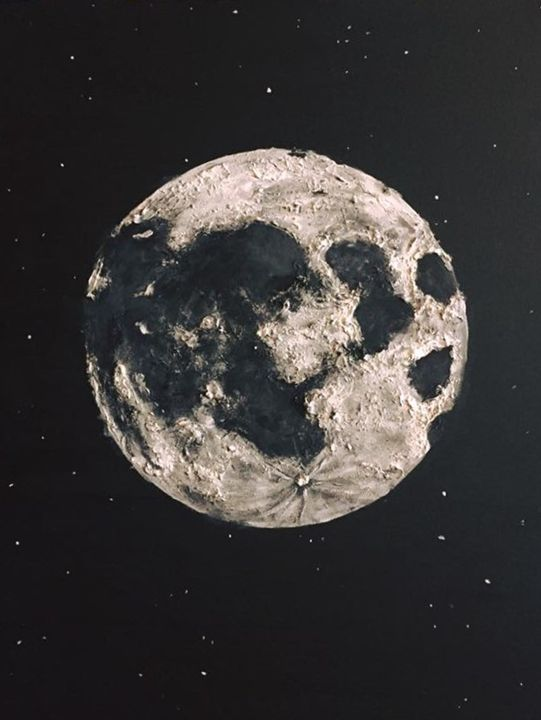 Moon in 3D - Sarah Kleinhans