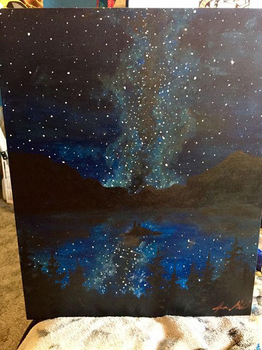 Milky Way over Snt. Marys Lake - Sarah Kleinhans