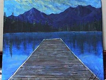 Lake McDonald Dock - Sarah Kleinhans