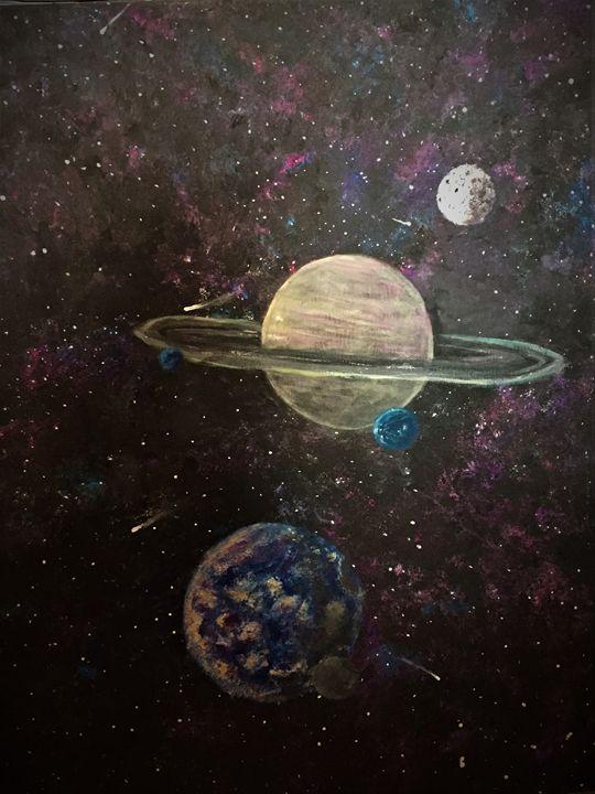 Planets in Orbit - Sarah Kleinhans