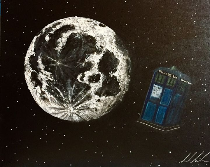 Dr. Who Space Travel - Sarah Kleinhans