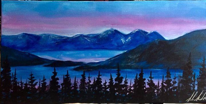 Flathead Lake Sunrise - Sarah Kleinhans