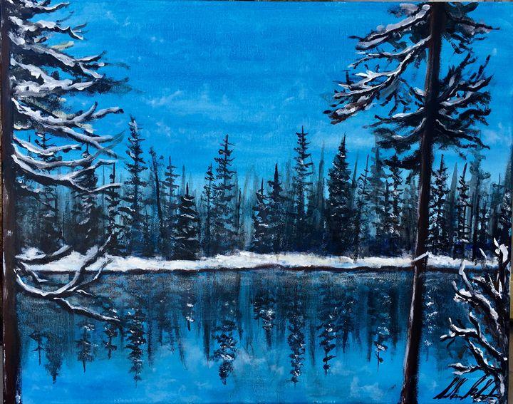 winter on Swan River - Sarah Kleinhans