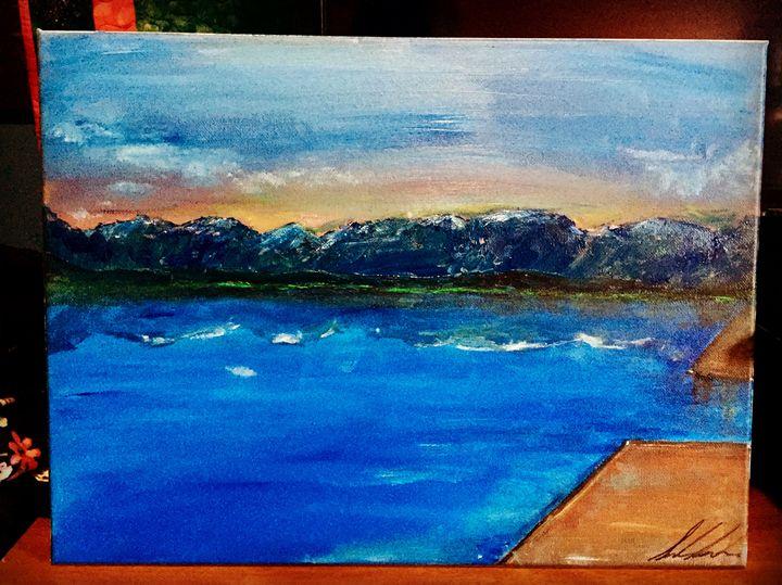 Stormy Sky Over Flathead Lake - Sarah Kleinhans