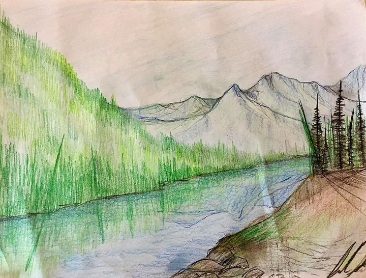 Reflection of The Middle Fork - Sarah Kleinhans