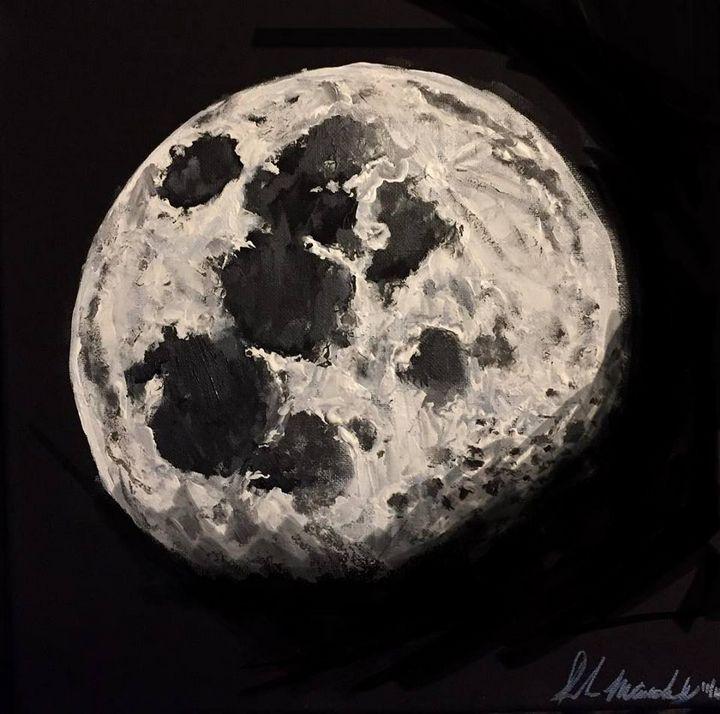 2018 November Moon - Sarah Kleinhans