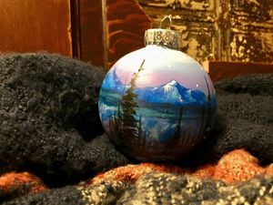 Flathead Lake Christms Ornaments