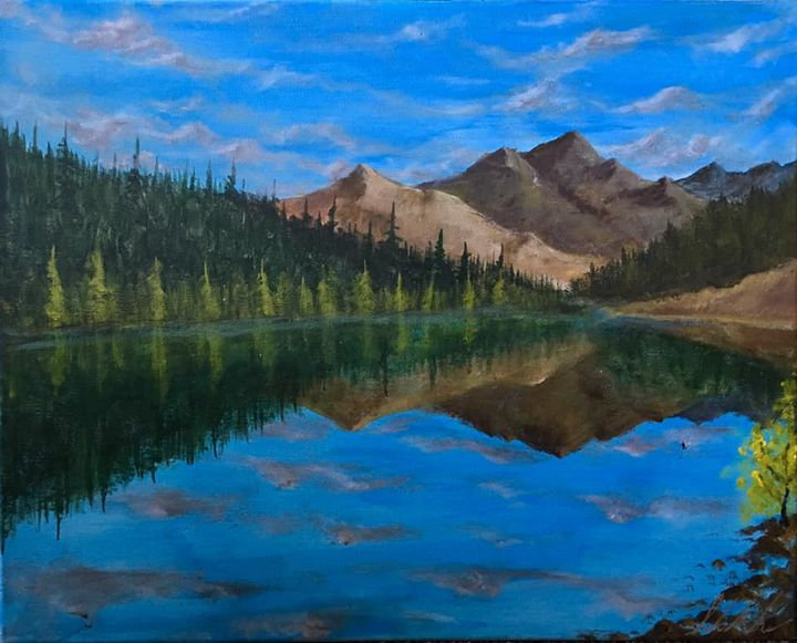 The North Fork River #2 - Sarah Kleinhans
