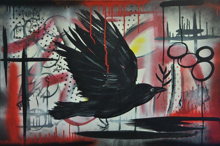 Peace Is An Ideal - Kez Radson Art Studio