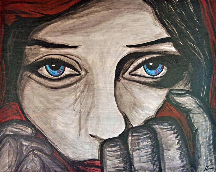 Window to the Soul - Kez Radson Art Studio