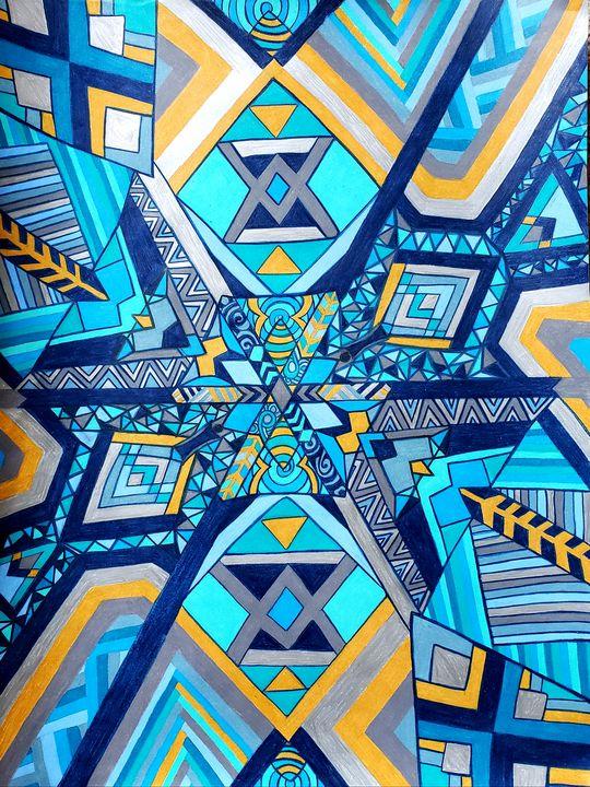 Aztec Snowflake - Creative Klarity