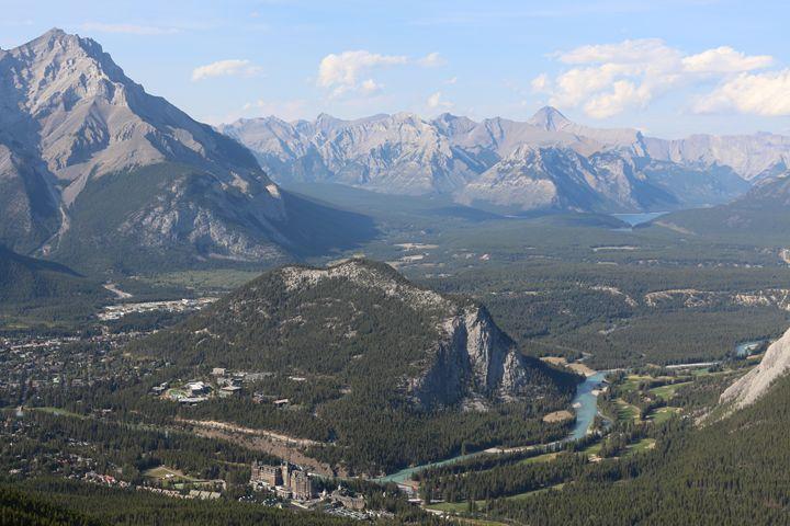 Banff landscape - Oleksandr Liashenko Art