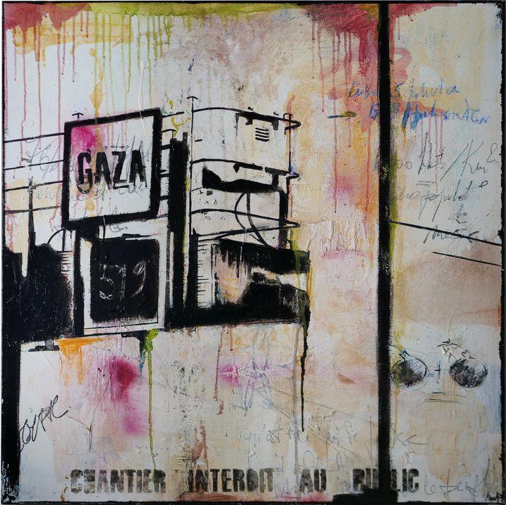 """Gaza, 5 Janvier."" - Mia"