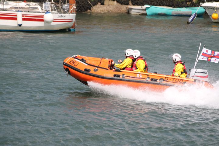 Inshore Lifeboat - Graham Bruce Photography