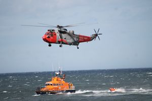 S.A.R Helicopter & Lifeboat