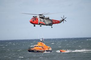S.A.R Lifeboats & Helicopter