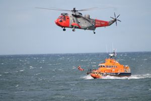 S.A.R Lifeboat & Helicopter