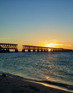 Sunset Over Bahia Honda, FL - My Cornacopia