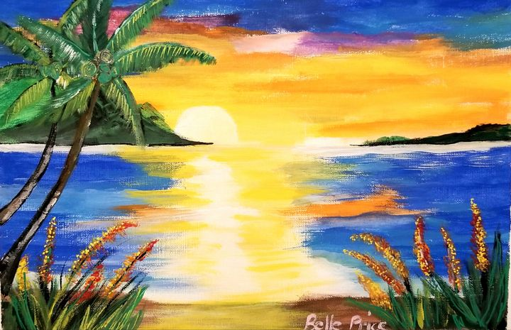 Tropical Sunset - Belle Price