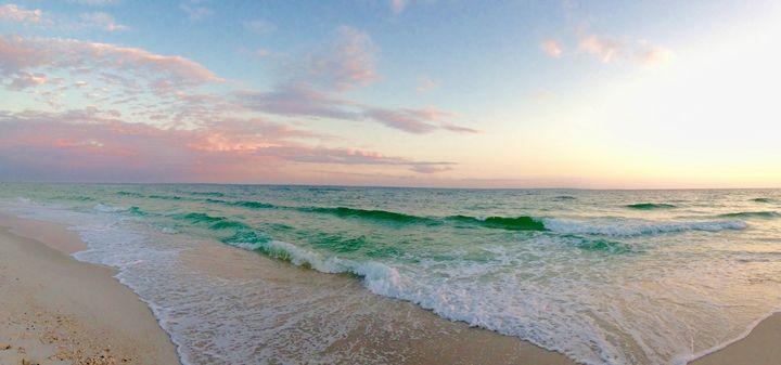 Emerald coast panoramic - Allison's photography