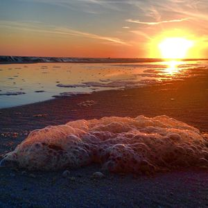 Seafoam Sunset