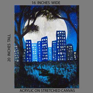 Blue City Night