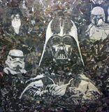 Star Wars Collage art